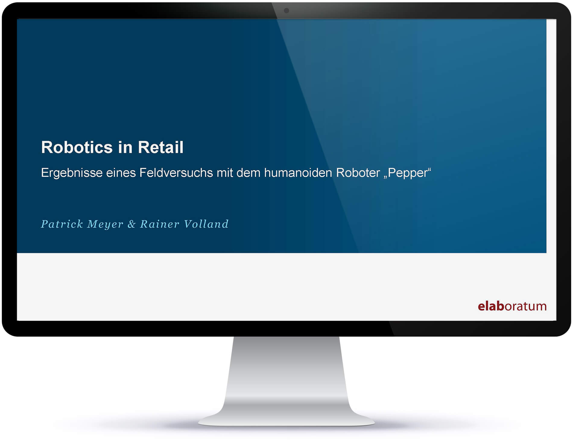 Robotics in Retail Studie